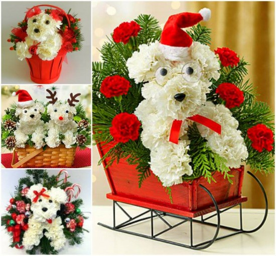 Puppy christmas bouquets 550x510.jpg