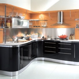Beautiful small modern kitchen with small modern kitchen cabinets by dandsfurniture net1.jpg
