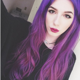 Purple ombre hair color choice nice red purple.jpg