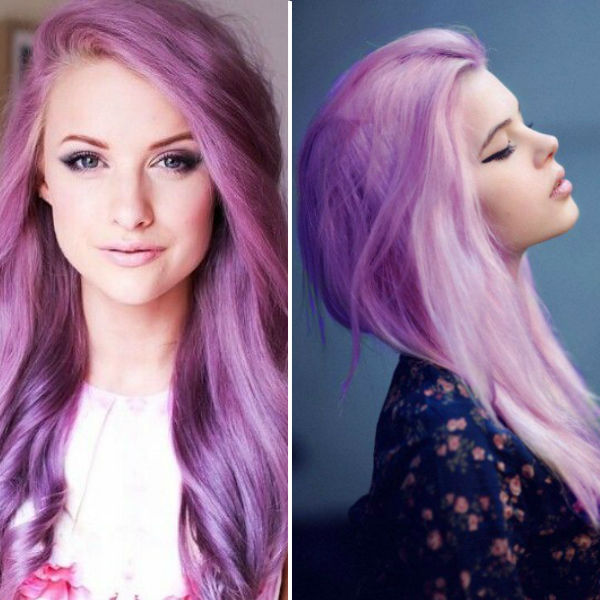 Purple ombre hair color ideas with pinknew choice to dye hair purple.jpg
