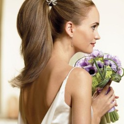 15 ways to rock a pony tail on your wedding11.jpg