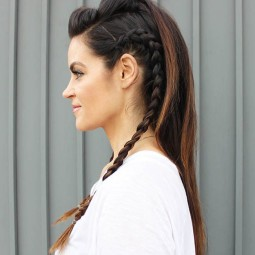 Faux hawk hairstyle for long hair.jpg