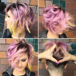 Messy layered bob hair cuts shaved hairstyles 2016.jpg