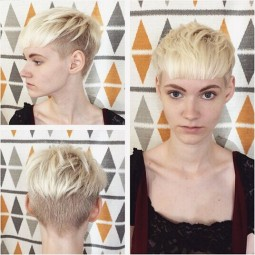 Casual blonde short hair styles with blunt bangs.jpg