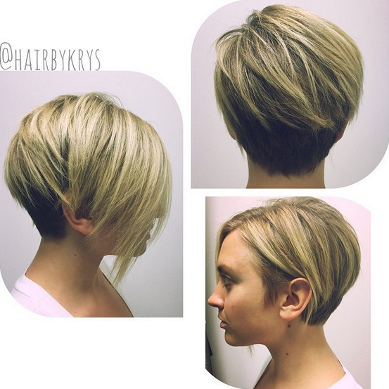 Short haircut for heart or round face shape.png