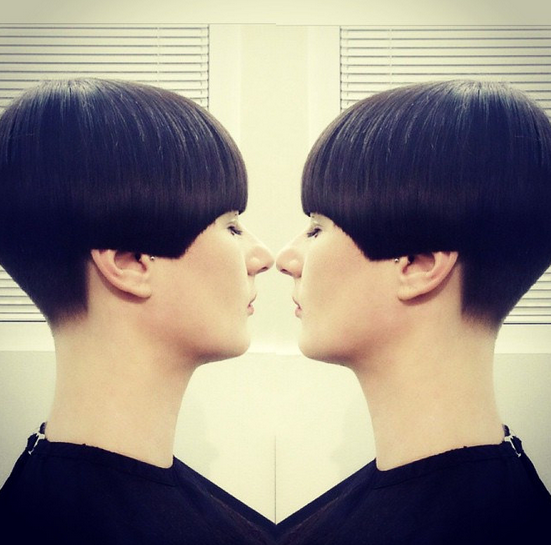 Straight short hairstyle designs for 2015 2016.png