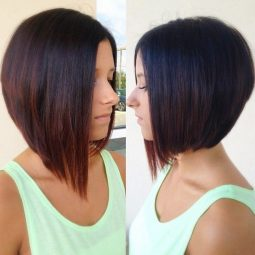 Asymmetrical bob hairstyle for women.jpg