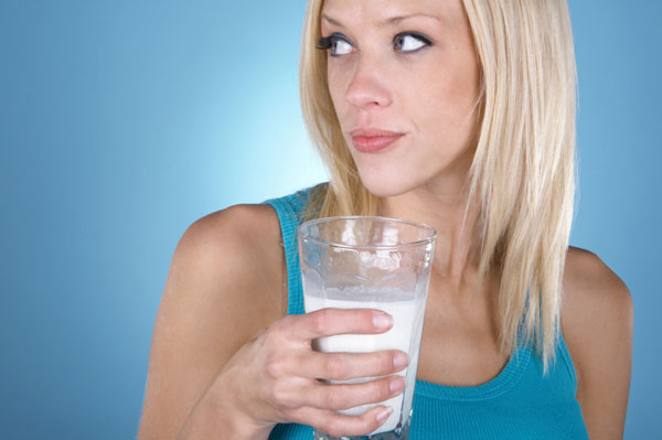 Woman drinking milk.jpg