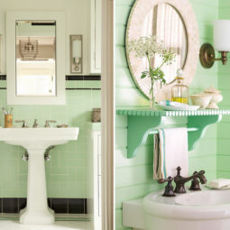 Post_free standing sink mint bathroom tiles decor.jpg