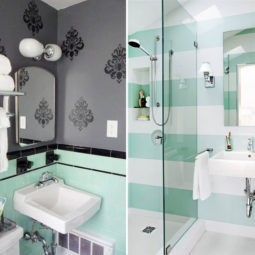 Post_grey bathroom ideas with murals and mint green and black porcelain tiles.jpg