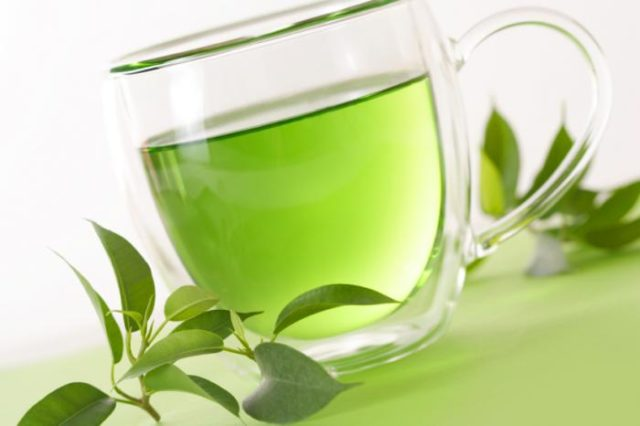 Green tea in a cup.jpg
