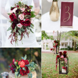 Marsala and gold wedding color ideas 2016 trends.jpg