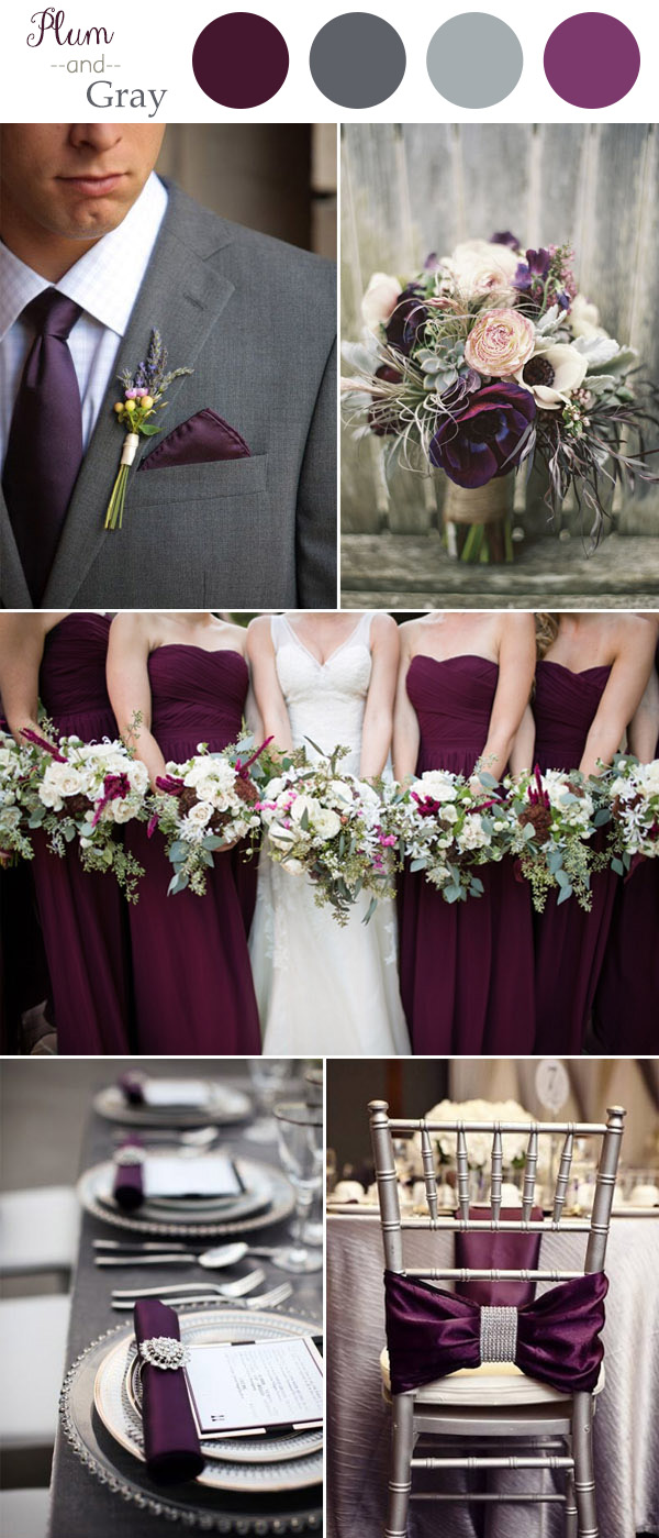 Plum and gray rustic wedding color trends 2016.jpg