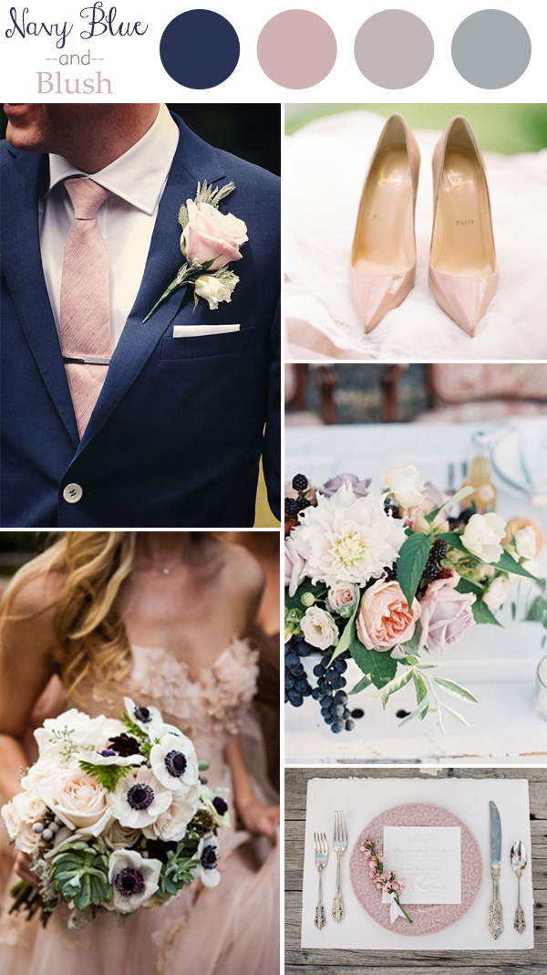 Wedding color trends 2016 navy blue and blush.jpg