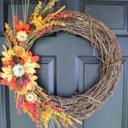 Diy fall wreath fall themed tour on door fall falldecor diy artsychicksrule.com_ 600x754.jpg