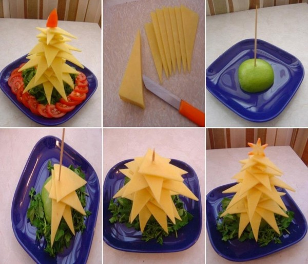 How to diy edible christmas tree platter1.jpg