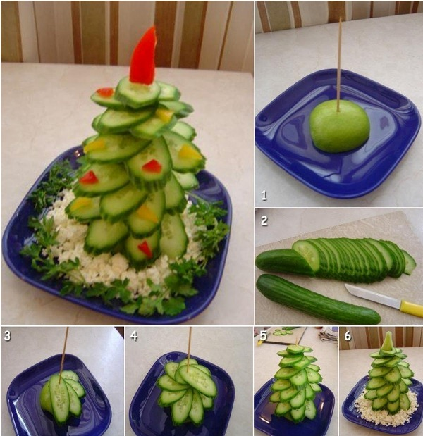 How to diy edible christmas tree platter2.jpg