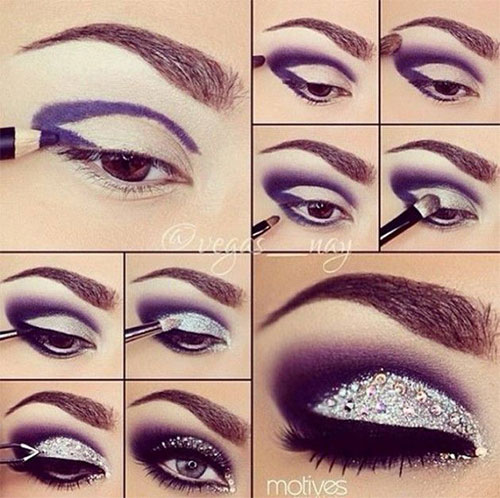 20 happy new year eve eye makeup tutorial 2015 20.jpg