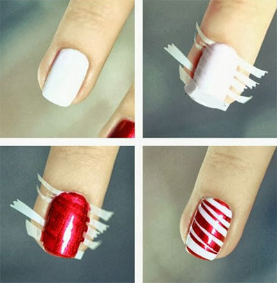 Christmas stripe nail art.jpg