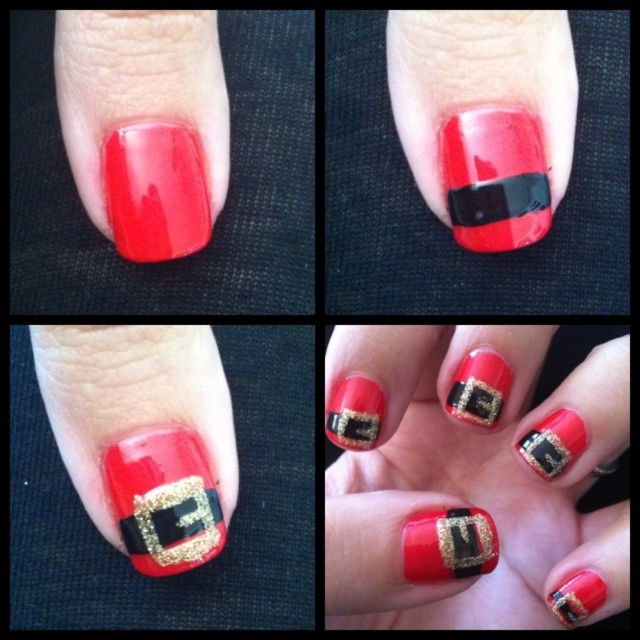 Simple christmas nail art tutorials.jpg