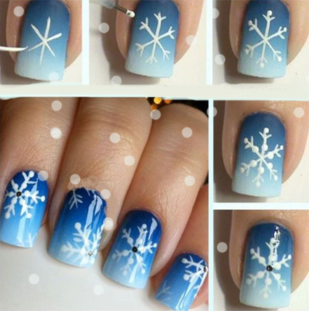 Winter snowflake nail art tutorial.jpg