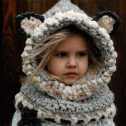 Winter warm neck wrapped font b fox b font scarf caps cute children wool knitted hats 584ae72301241__605.jpg
