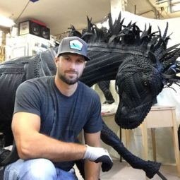 Amazing tire sculptures by artist blake mcfarland 58820b01e2a16__700.jpg