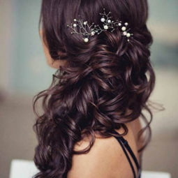 Long wedding hairstyles with headpieces for 2017.jpg