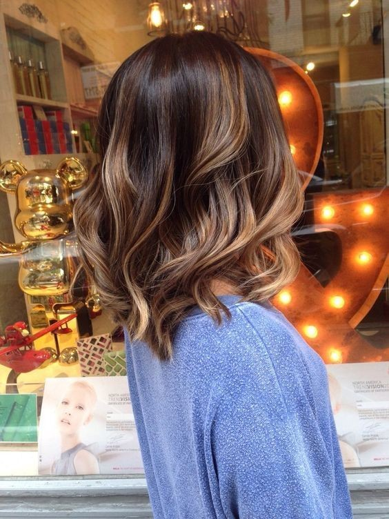 Perfect bayalage with shoulder length hairstyles winter hair color 2016 2017.jpg