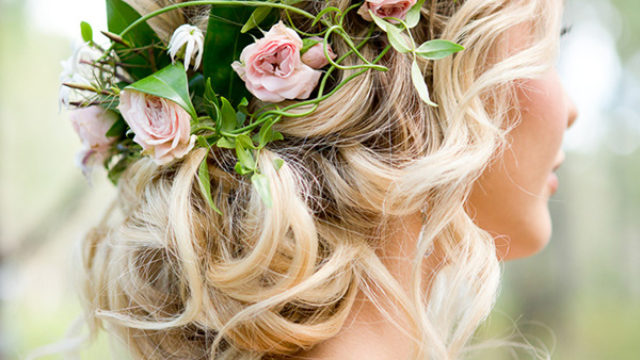 Romantic floral updo wedding hairstyles for 2017.jpg