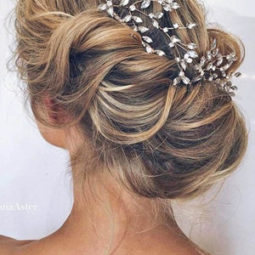 Timeless updo wedding hairstyle ideas for long hair.jpg