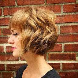 Tousled curly bob hairstytle for short hair .jpg