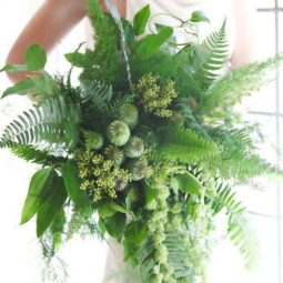 All greenery wedding bouquets 5.jpg