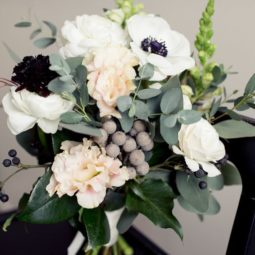 Anemone barries eucalyptus wedding bouquet.jpg