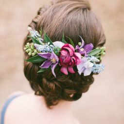 Bridesmaid hairstyle with flower crown.jpg