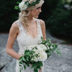 Greenery and white wedding crown.jpg