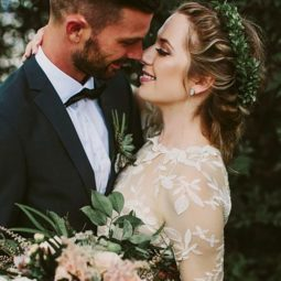 Greenery wedding hair ideas brandon scott photography.jpg