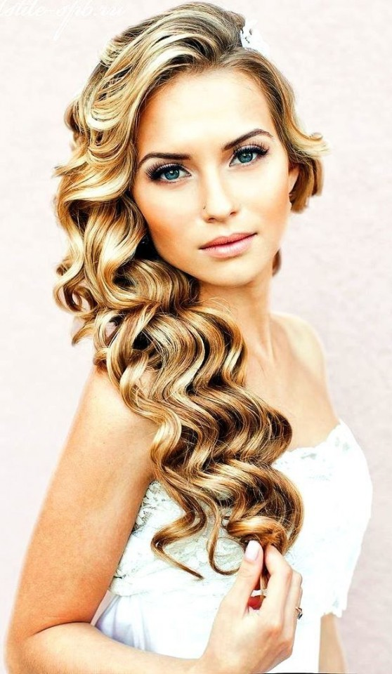 20 gorgeous bridal hairstyle and makeup ideas for 2016 1.jpg
