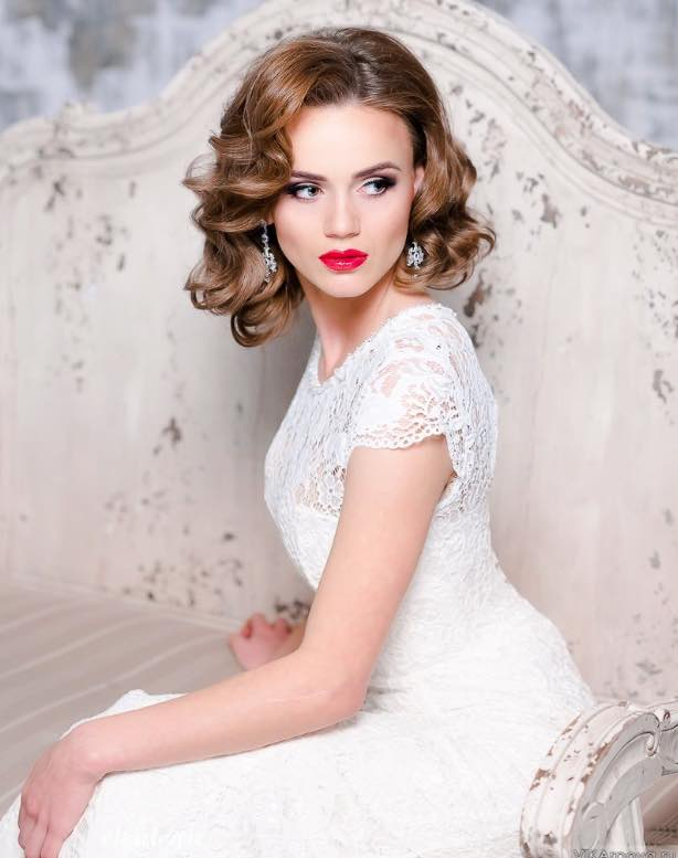 20 gorgeous bridal hairstyle and makeup ideas for 2016 8.jpg
