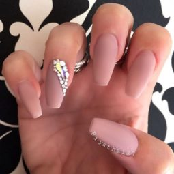 Nude color ballerina nails bmodish.jpg