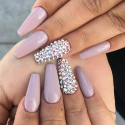 Nude color studded ballerina nails bmodish.jpg