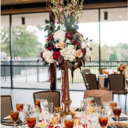Burgundy and blush wedding centerpiece.jpg