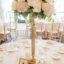 Ivory and cream tall wedding centerpiece.jpg