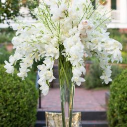 Orchid centerpiece for a great gatsby themed wedding.jpg