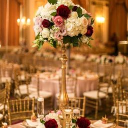 Roses tall wedding centerpiece.jpg