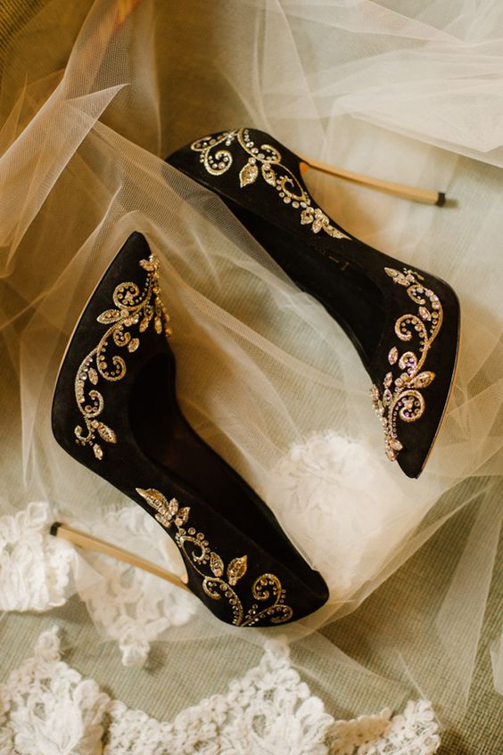 Black and gold wedding shoes.jpg