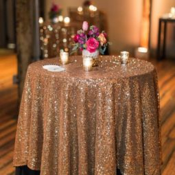 Glitter and black wedding table decor.jpg