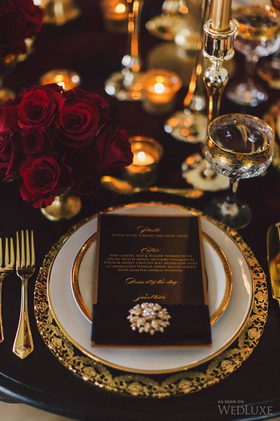 Gold and black wedding table decor.jpg