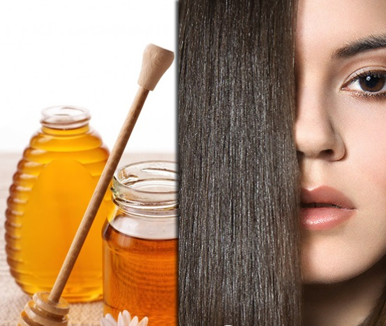 Hair care with honey with the olive oil.jpg