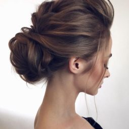 Low set wedding updo 2018 wedding hair trends.jpg